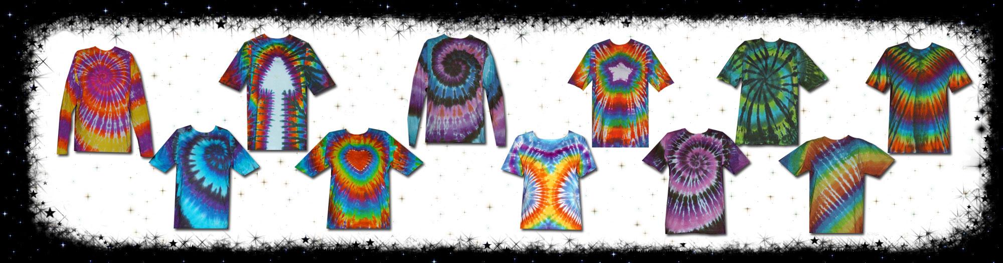 7aabbab7 Adult Unisex Tie Dye T-shirts - Cosmic-Corner.com